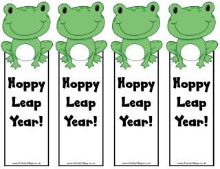 Leap Year Printables from Activity Village