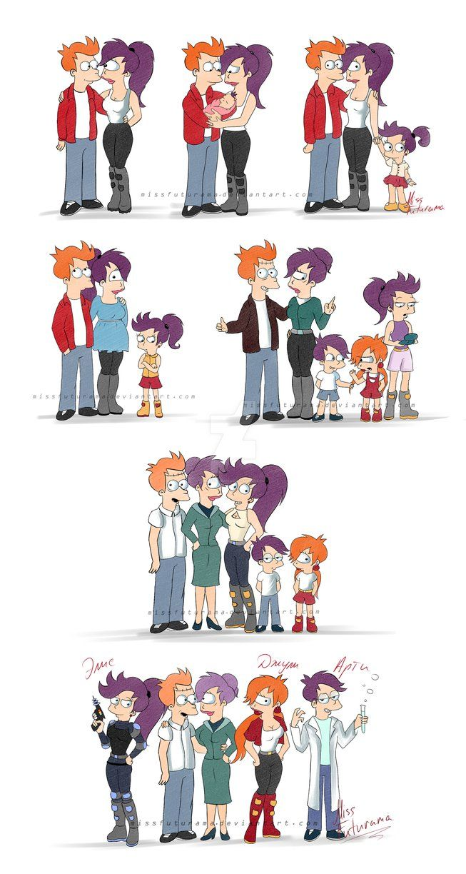 Fry and Leela through time - Album on Imgur