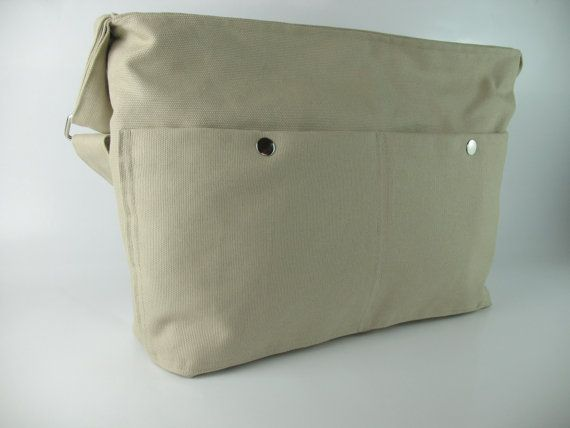 Cotton Canvas, Messenger,  Beige,  Unisex,  School,  Daily Use, Travel, Women Fashion, Cross Body, Daily Use, Sport, College