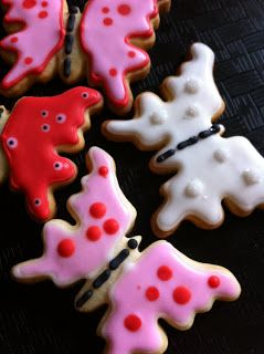 #sugar #cookies #decorating #royal icing #recipes #spring butterflies cookies - STUDIO L