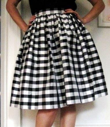 Full, Gathered Skirt