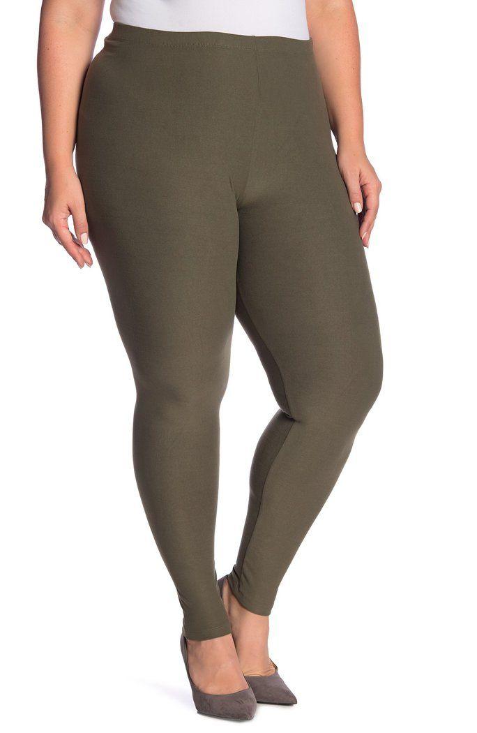 b334a019eba7b7 Derek Heart - Brushed Jersey Leggings (Plus Size) #NordstromRack #Fashion  #Women