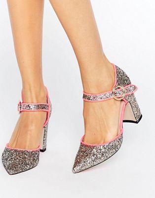 Туфли на каблуке с острым носком ASOS SASSI