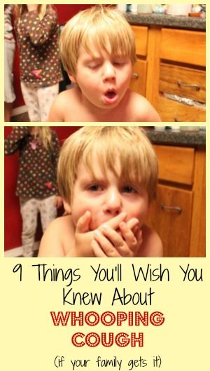 9 Things You'll Wish You Knew About Whooping Cough - SidetrackedSarah.com