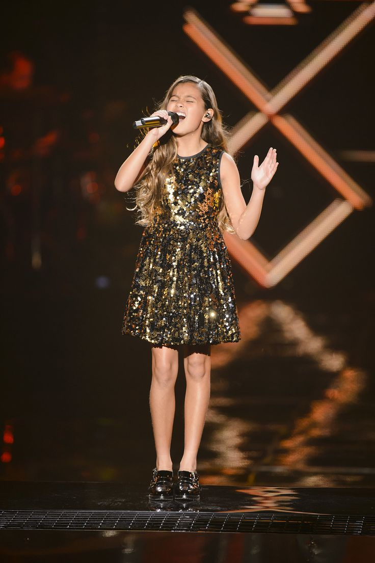 "Alexa singing ""Hero"" on The Voice Kids Australia."