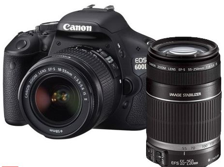 Canon EOS 600D Lens Kit 18-55mm IS II | Kamera dan Lensa
