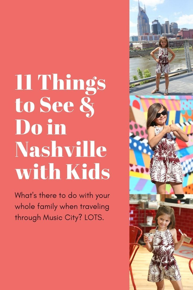 Family Travel: How to Do Nashville with Kids in Tow. Nashville wears a lot of hats: home of country music, foodie town, bachelorette capital of the U.S. But Nashville is also a fantastic city to explore with kids in tow. Click through to find out the best kid-friendly activities in Nashville. | Camels and Chocolate #nashville #travelwithkids #nashvillewithkids #familytravel