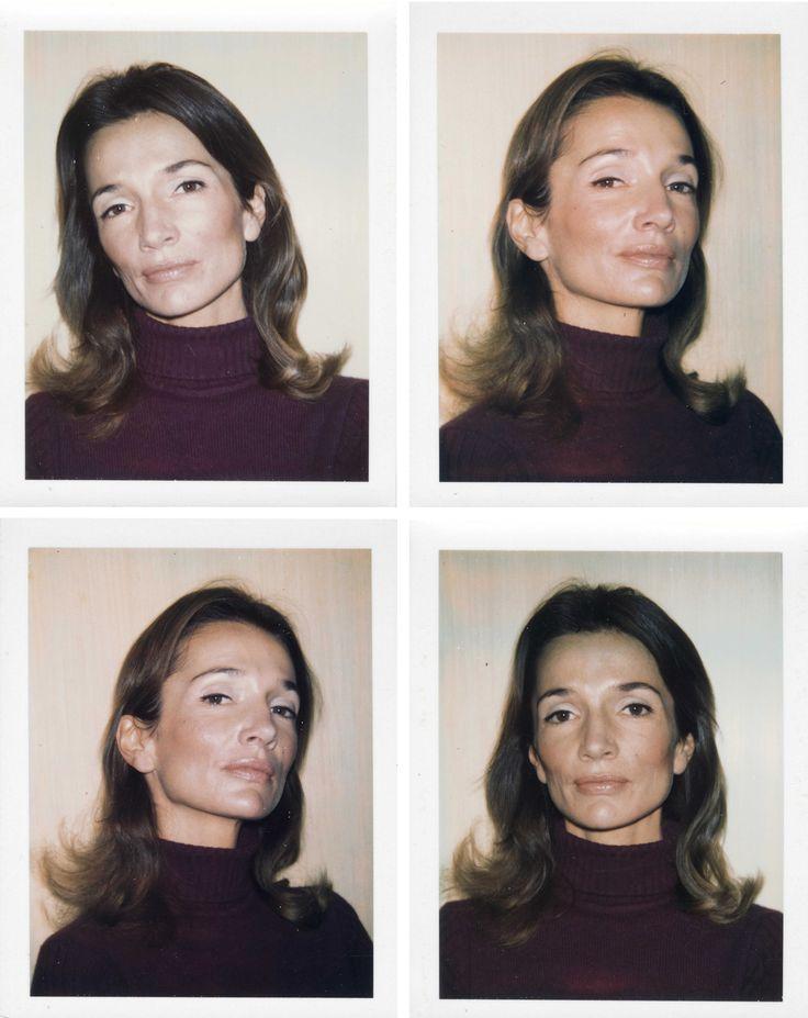Lee Radziwill. Photos by Andy Warhol.