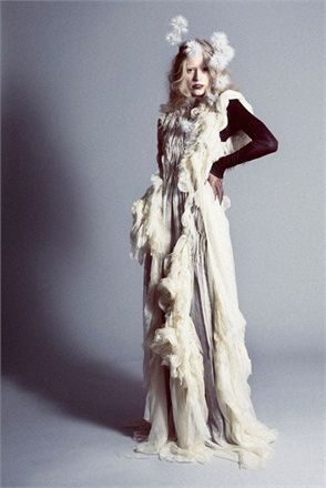 Lina Michal Winner of 2013 MUUSE x Vogue Talents Young Vision Award