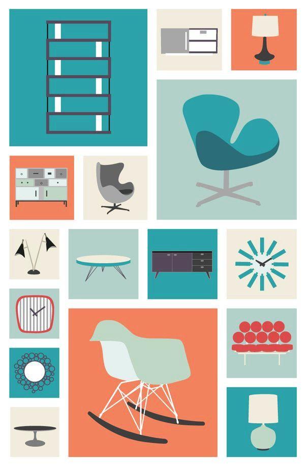 343 best Illustration images on Pinterest Art illustrations - küche weiß braun