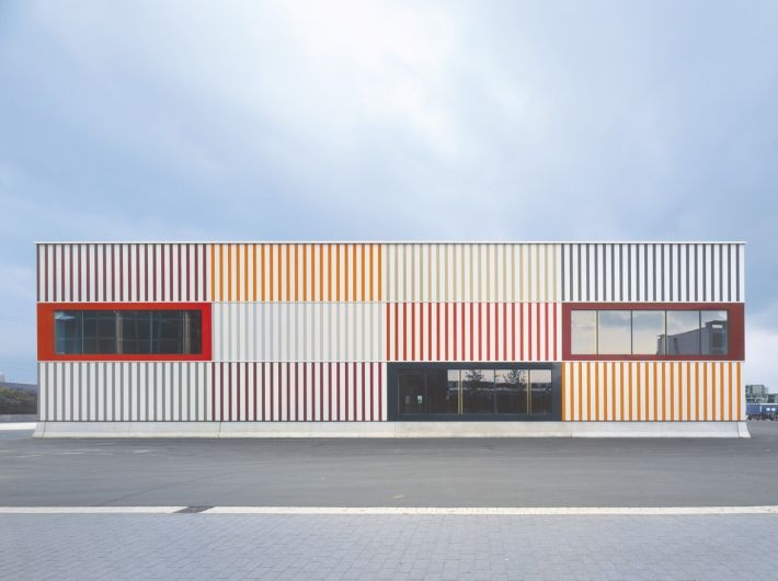 Like Stacked Containers | Mapolis | Architecture U2013 The Online Magazine For  Architecture | Logistic Center | Pinterest | Architecture And Facades