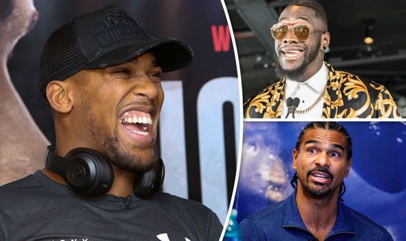 Anthony Joshua next fight: Joshua discusses facing Wilder and Haye after Pulev
