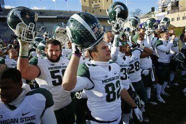 Michigan State football coach Mark Dantonio says a win next Saturday should put Spartans in BCS bowl | MLive.com