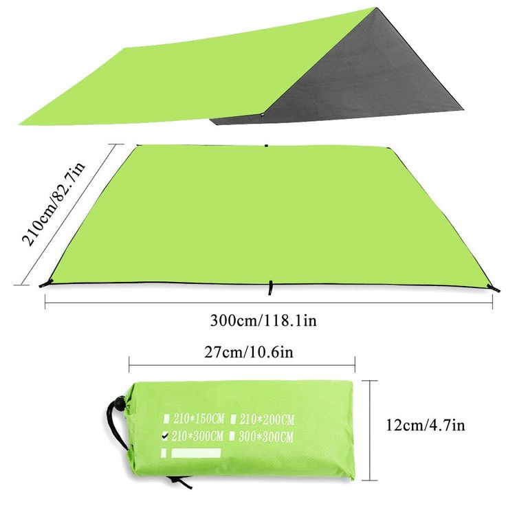 Outdoor Waterproof Camping Tent Footprint Groundsheet Blanket Mat for Outdoor Picnic Camping Mat Beach Tent Awning Sleeping Pads Green (82.7 118.1). ☀SIZE: 82.7* 118.1.Material: 210D Oxford cloth combined with unique waterproof processing delivers lasting durability; protects you and your belongings against dampness. ☀Multi functional tarp: The footprint can be used as ground cloths under camping tents to prevent the wear and tear of your tent against the ground; allow you camp on desert...