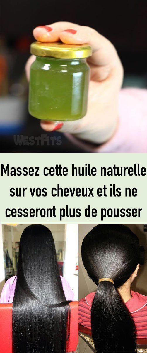 Massez cette huile naturelle sur vos cheveux et ils ne cesseront plus de pousser !