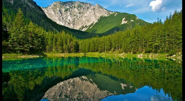 Gruner See (or Green Lake) is a lake in Styria, Austria