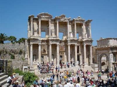 Ephesus in Kusadasi, Turkey