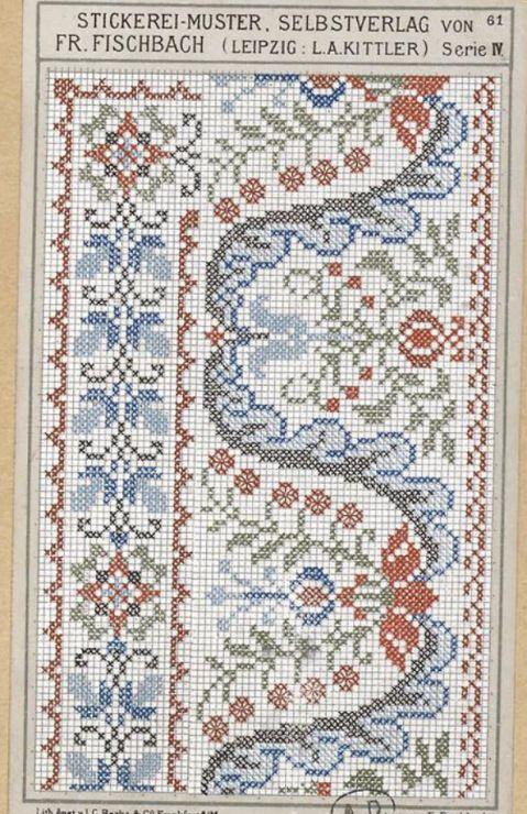 Gallery.ru / Фото #110 - старинные ковры и схемы для вышивки - SvetlanN