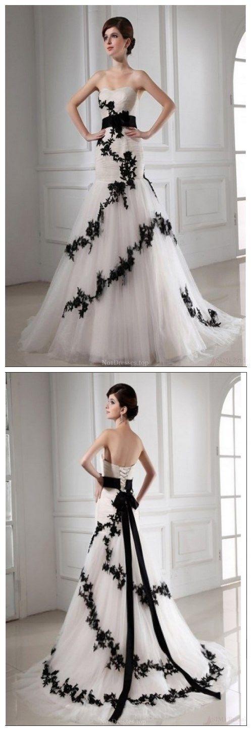 New Design Mermaid Appliques Floor-length Sweetheart Wedding Dresses On Sale (WD0077)