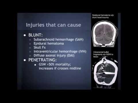 "▶ Increased Intracranial Pressure (ICP) in Trauma: ""EM in 5"" - YouTube"