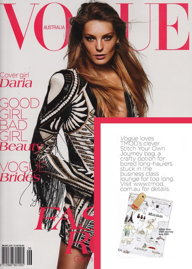 Stitch Your Journey Bag, Vogue June 2012