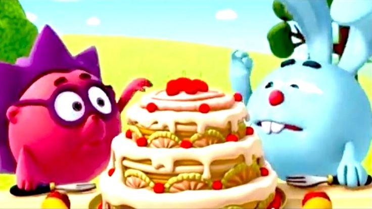 Смешарики торт.  Вход только для детей