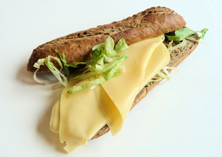 broodje kaas - cheese and bread, Netherlands