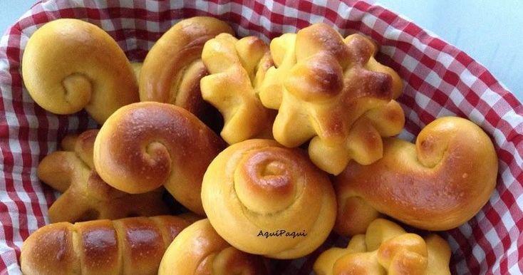 Nos encanta incluir calabaza en nuestras recetas dulces, si no lo habéis probado nunca os recomiendo estos bollitos. ¡Geniales!
