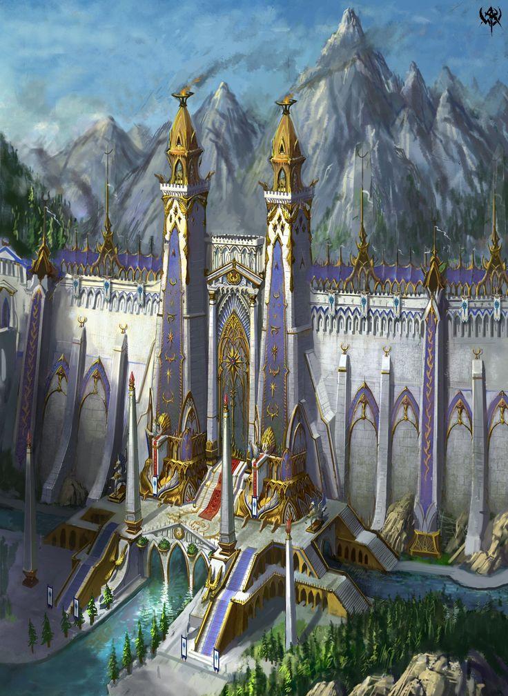 Gorgeous fantasy art. ...