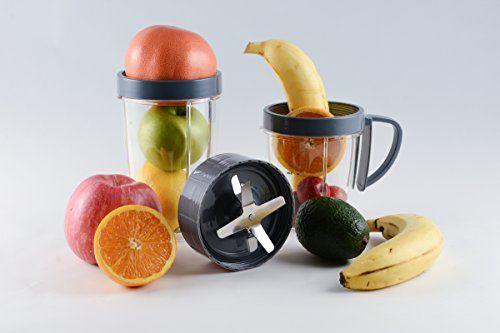 Veneto Kitchen Blender Cups and Blade Replacement Set for Nutribullet Blender