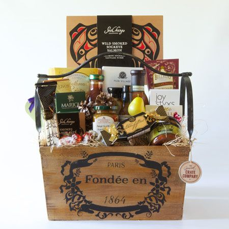 Joie de Vivre. Outstanding display of items to thank clients, associates or to give as an extra special referral gift.