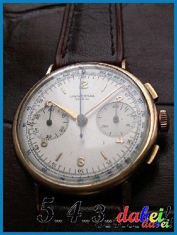 Universal Genève Compax Chronograph um 1950 |