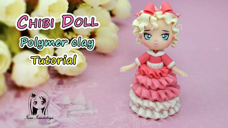 how to make a clay chibi