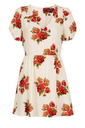 Petite Floral Teadress - Petite  - Clothing