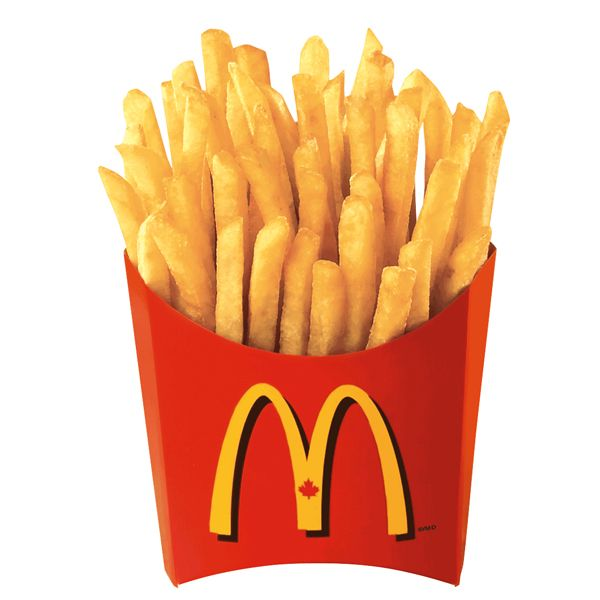 Crazy Foods You SHOULD NEVER EAT While Trying To Be Healthy - - - McDONALDS FRIEs: Incredibly crisp on the outside, light and fluffy on the inside, and always heavily salted, they're considered one of the most popular menu items. At 11 grams of fat and 230 calories for a small serving of fries.