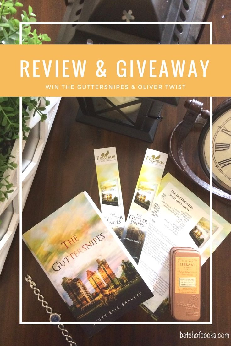 Giveaway And Review Of The Guttersnipes By Scott Barrett