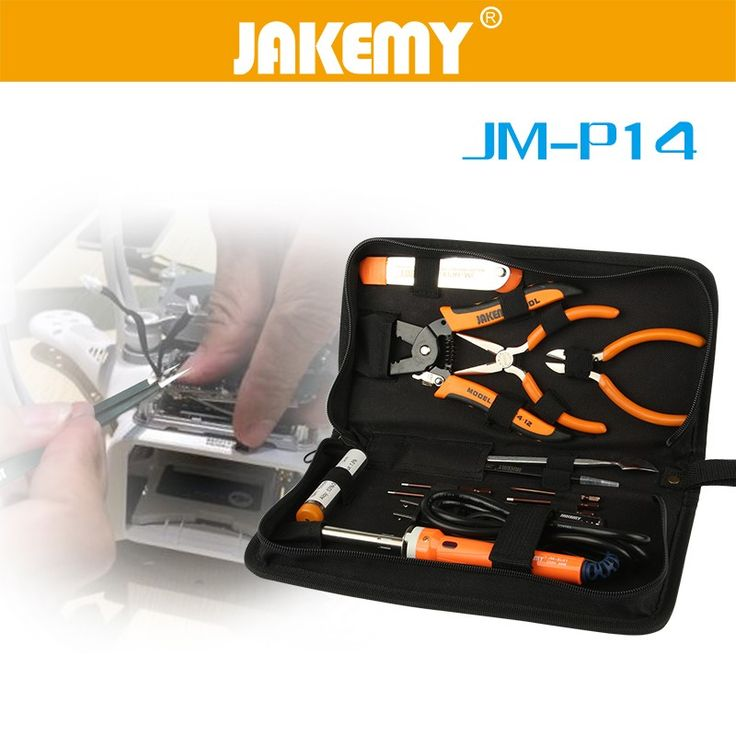 Top Quality electronic motherboard repair tool kit for radio control model aircraft repairing