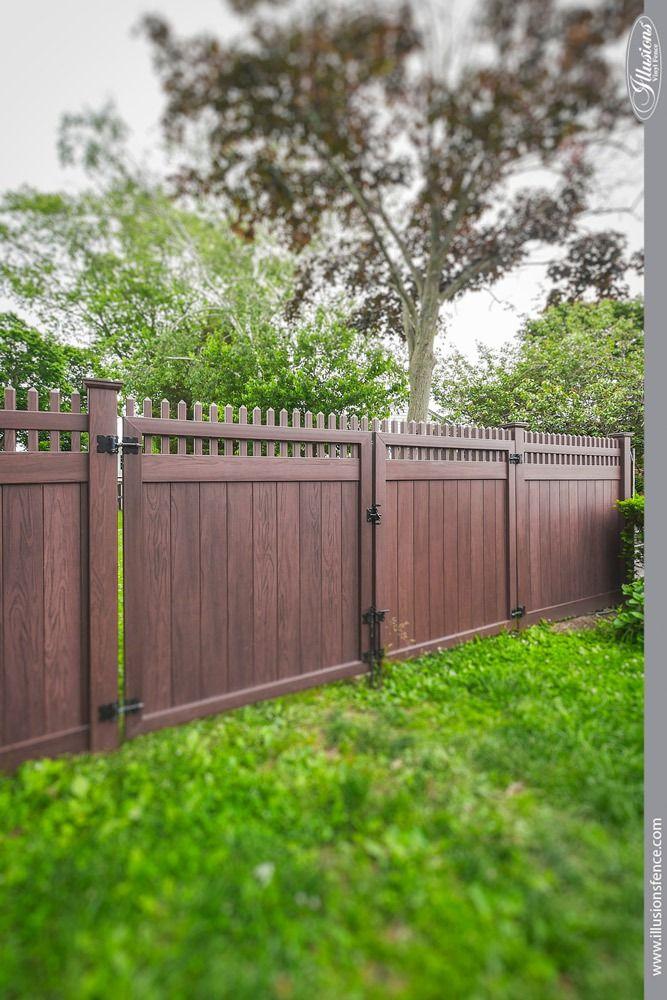 Best commercial vinyl fence images on pinterest