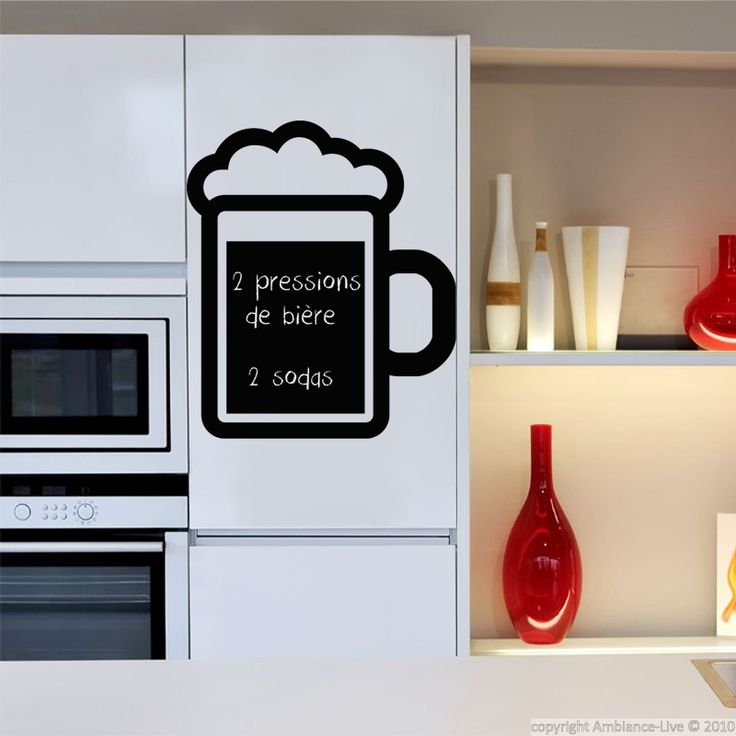 34 best images about galerie stickers ardoise wall - Stickers ardoise cuisine ...