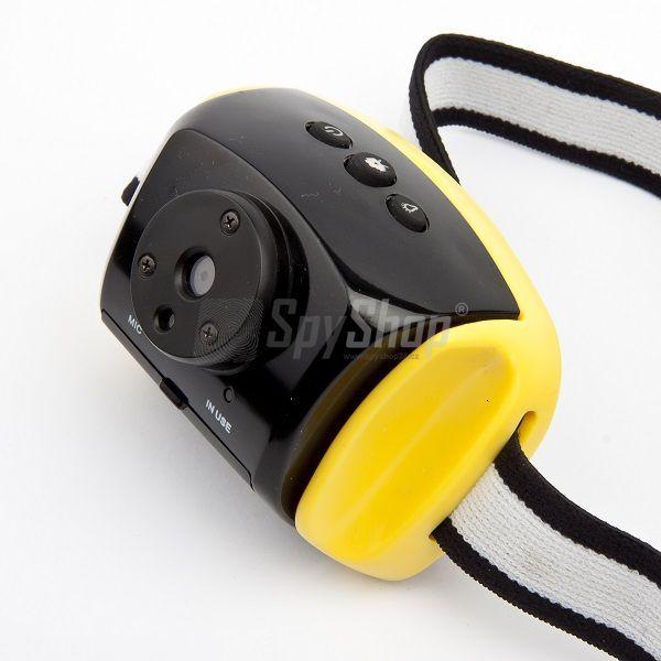 Vodotěsná outdoorová kamera na helmu AT-30