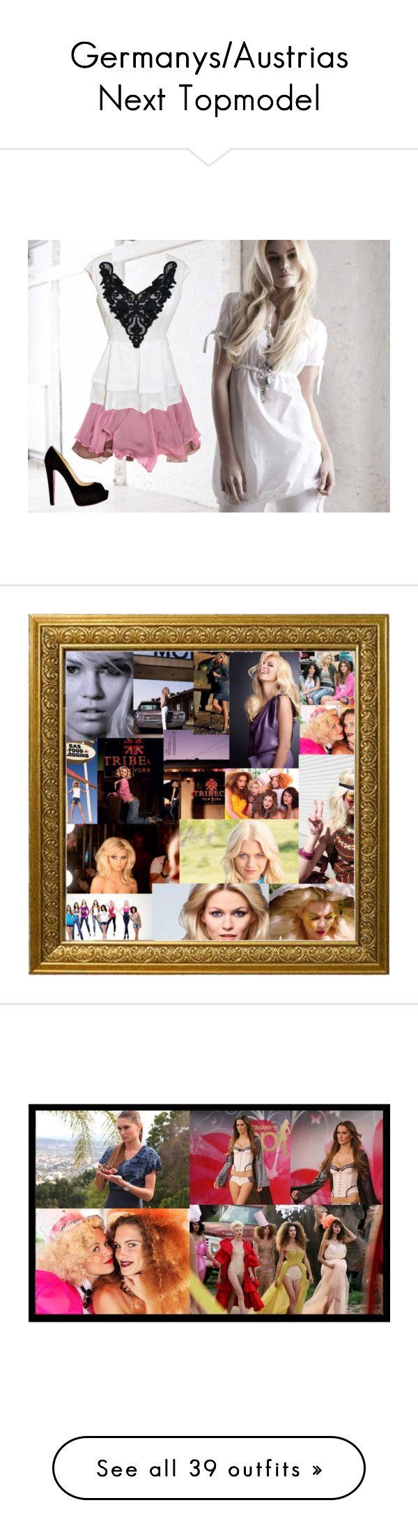 """Germanys/Austrias Next Topmodel"" by tripledog ❤ liked on Polyvore"