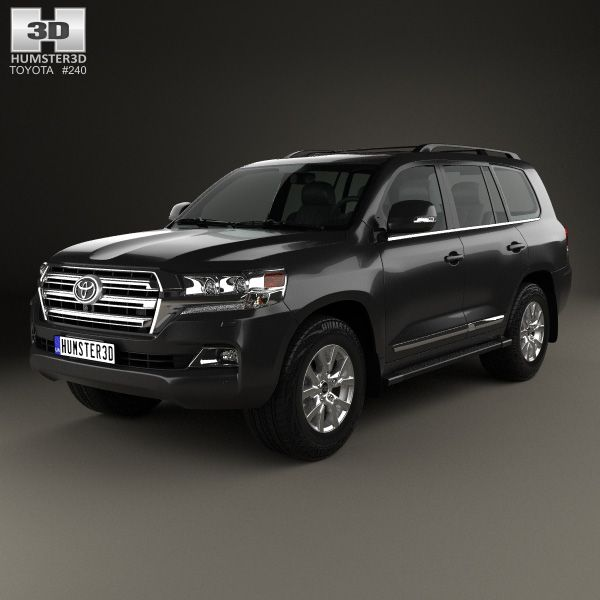 Toyota Land Cruiser (J200) 2016  3d model from Humster3d.com