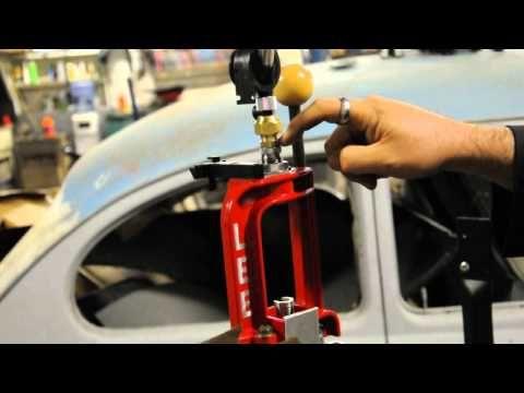Lee reloading press 40 caliber powder dispenser mod