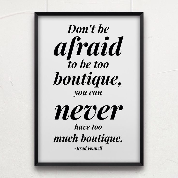 Now is the time of #boutique. It's our time, make your stand friends.