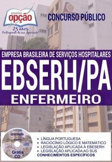 Apostila - ENFERMEIRO - Concurso EBSERH PA 2016