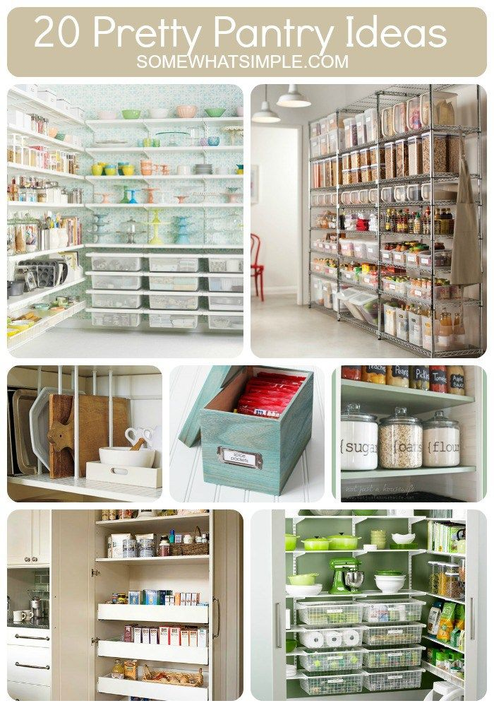 20 best step 1 food storage shelves images on pinterest for Perfect kitchen organization