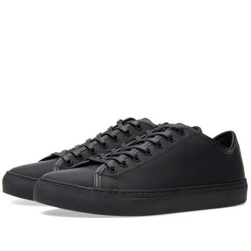 Diemme Veneto Low (Black Rubberised Leather)