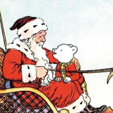 Rupert Father Christmas.