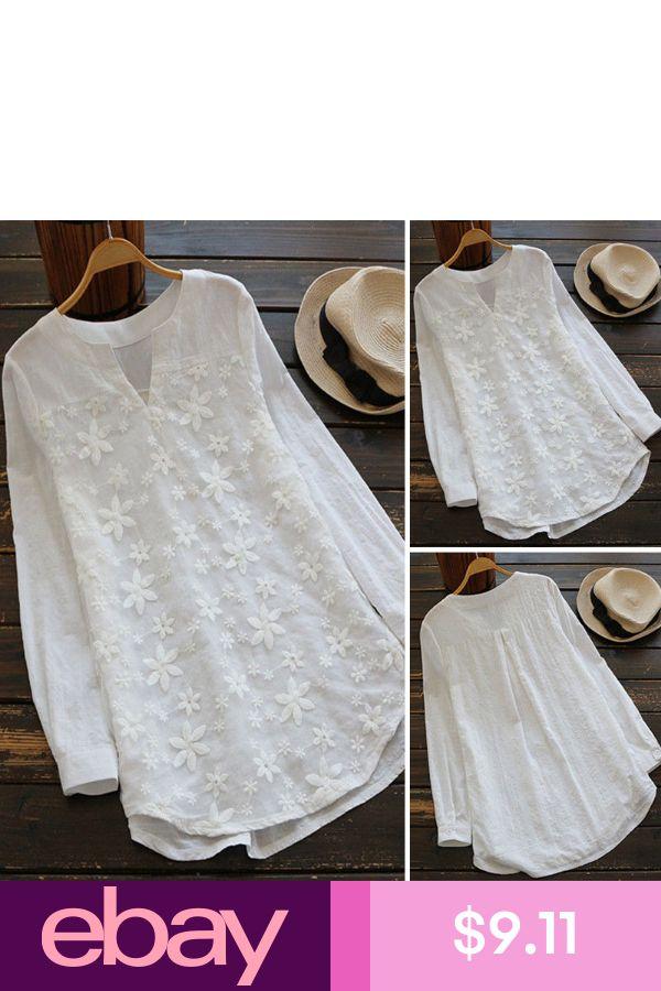UK 8-24 Women Summer Short Sleeve Lace Crochet Loose Tops Tees Shirt Blouse Plus