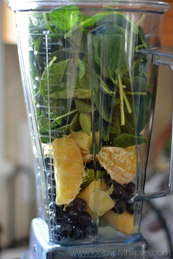 Green Smoothie Recipe-- healthy!